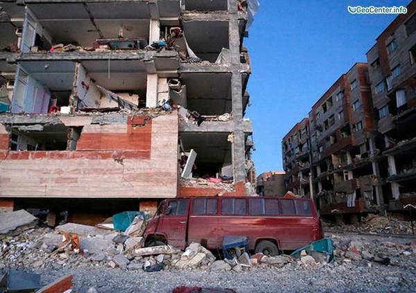 Землетрясение магнитудой 7,2 на границе Ирака и Ирана, 12 ноября 2017 года