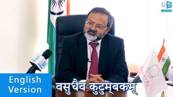 """World is one family"" वसुधैव कुटुम्बकम् H.E.Mr. Manoj Bharti. India ambassador in Ukraine. Interview"
