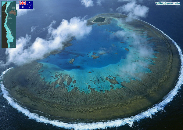 Большой Барьерный риф (Австралия) обесцвечивается