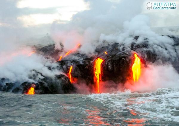Новости о гавайском вулкане Килауэа, апрель 2018