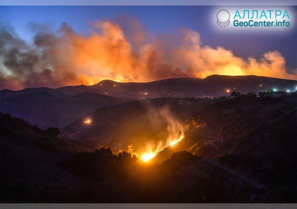 Пожар в Калифорнии. Последние новости, ноябрь 2018 г.