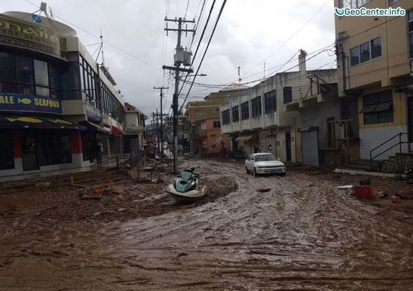 Наводнение на Ямайке, 22-23 ноября 2017 года