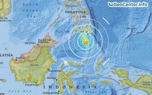 Землетрясение на юге Филиппин, апрель 2017 года