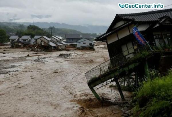 Наводнение на острове Хонсю, Япония, июль 2017 года