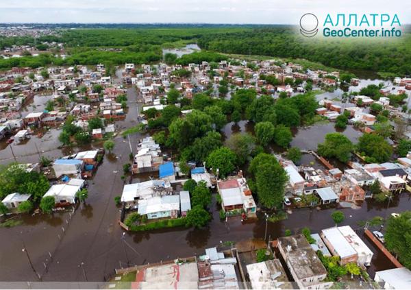 Наводнение в провинциях Аргентины, ноябрь 2018 г.