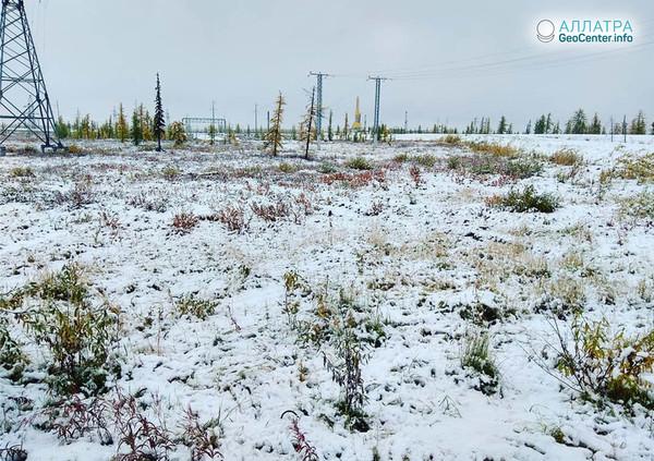 Аномально ранняя зима в регионах России, сентябрь 2018 г.