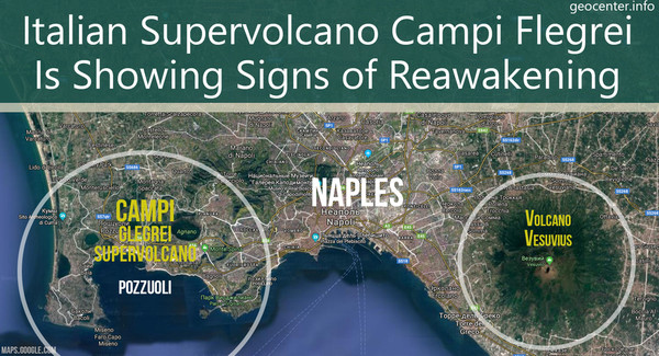 Italian Supervolcano Campi Flegrei Is Showing Signs of Reawakening