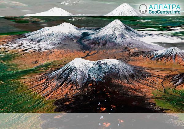 Výbušná erupce vulkánu Bezejmenný na Kamčatce, 16 března 2019