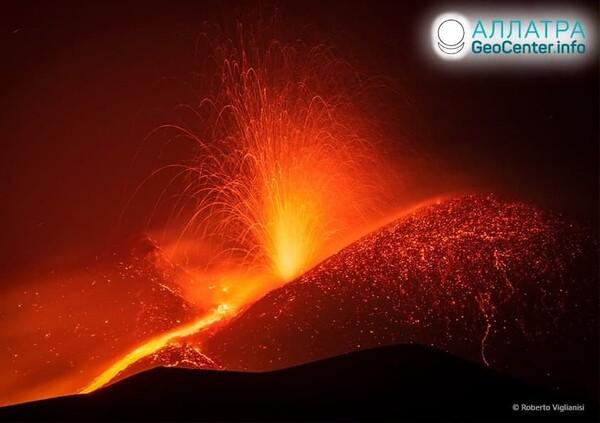 Извержение вулканов, конец мая 2021