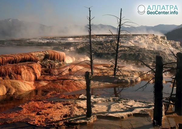 Yellowstone: správy sopečného observatória za november a december roku 2018