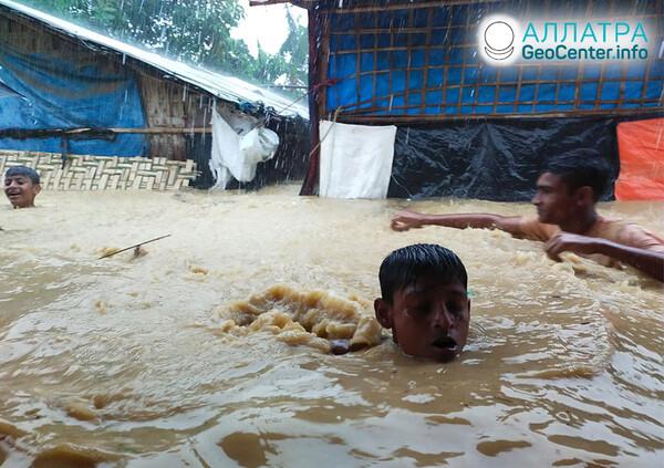 Katastrofické záplavy, koniec júla 2021