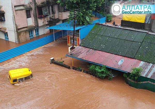 Katastrofické záplavy na planéte, koniec júla 2021