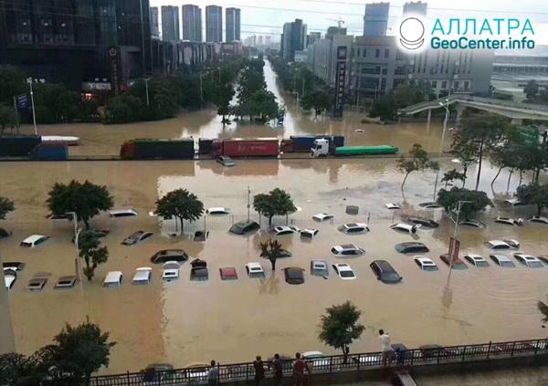 Катастрофические паводки в странах мира, май 2020 года