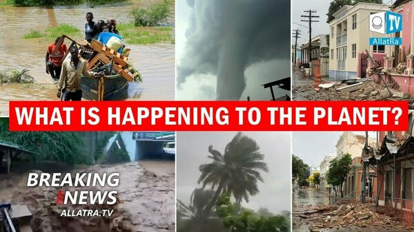 Climate is Changing! Heat in Siberia. Floods in Desert. Earthquakes in Greece. Storm in Indonesia