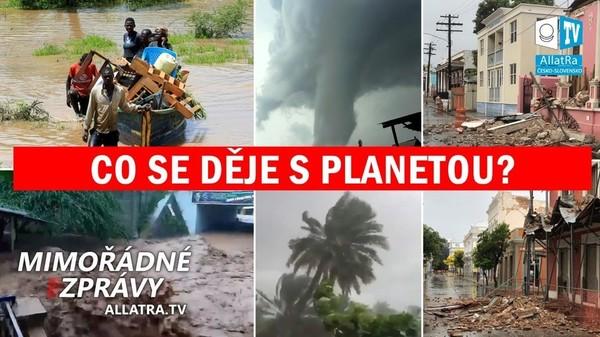 Klima se mění! Vedro na Sibiři. Povodně v poušti. Zemětřesení v Řecku. Bouře v Indonésii