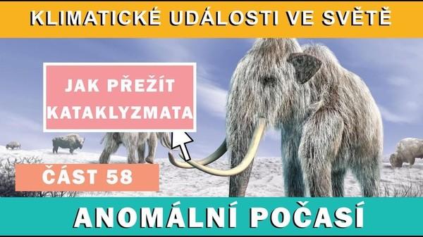 Jak přežít přírodní kataklyzmata. Klimatické události 8.-14.4.2017