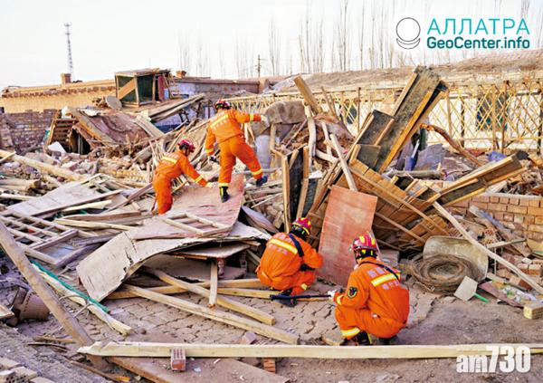 Silné zemetrasenie v Číne, január 2020