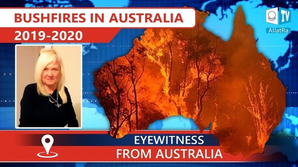 Forest fires in Australia 2019 - 2020. Climate. Eyewitnesses report