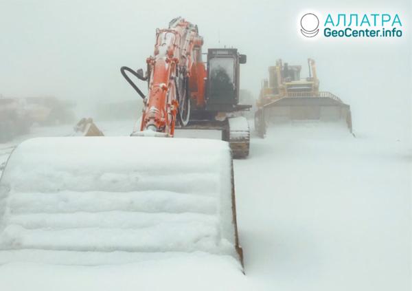 Летний снегопад в Австралии, декабрь 2019