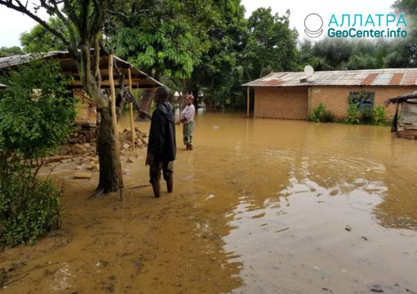 Масштабное наводнение в Центральноафриканской Республике, октябрь 2019