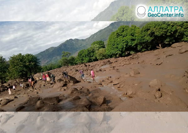 Mohutné záplavy a zosuvy v Keni, apríl 2020