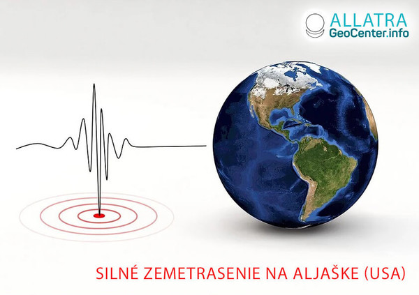Mocné zemetrasenie na Aljaške, USA, október 2020