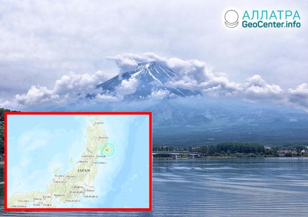 Мощное землетрясение в Японии, апрель 2020 года