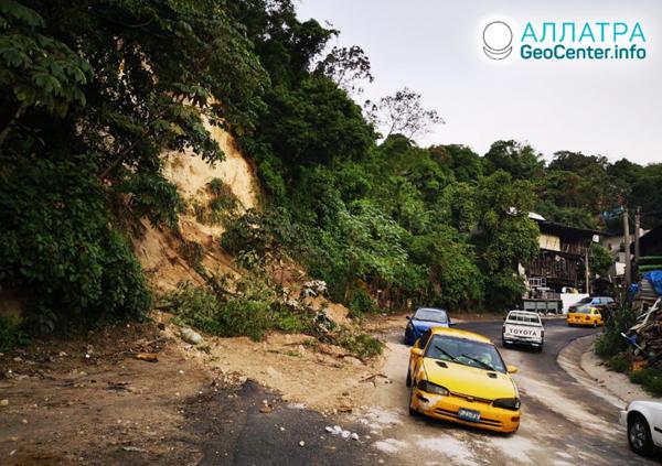 Мощное землетрясение в Сальвадоре 30 мая 2019