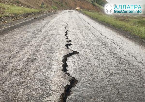 Мощные землетрясения на планете, июнь 2020