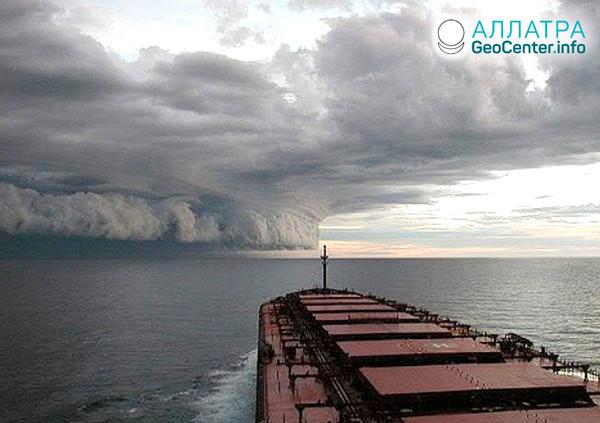 Мощный шторм в Греции, июль 2019