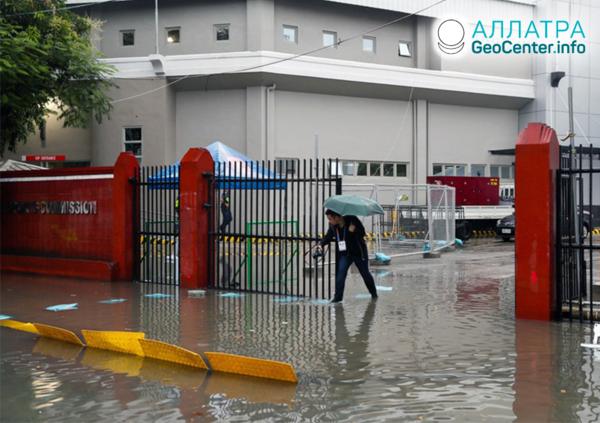 Záplavy na Filipínach, december 2019