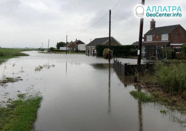 Povodně v Anglii, červen 2019