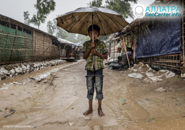Záplavy v Bangladéši, júl 2019