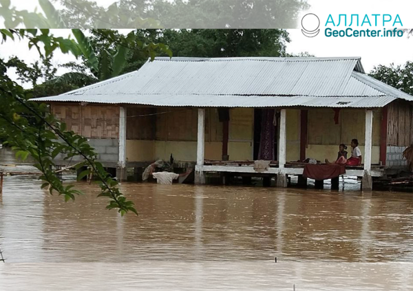 Záplavy v Indii, júl 2019