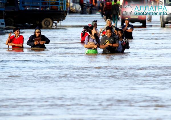 Наводнение в Индонезии, апрель 2019