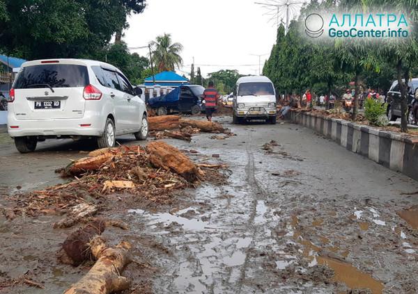 Наводнение в Индонезии, март 2019