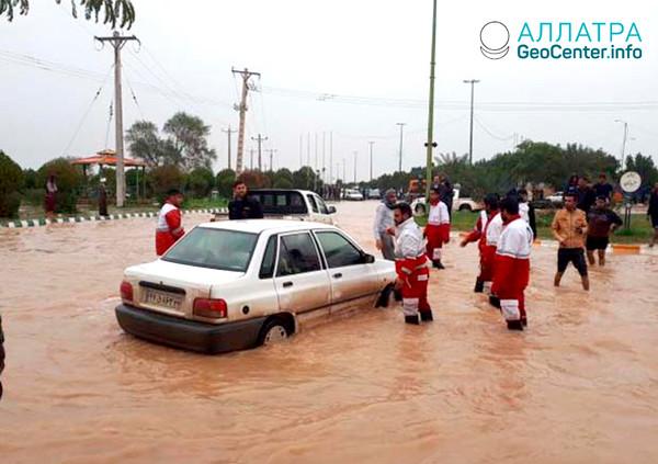 Наводнение в Иране, февраль 2019