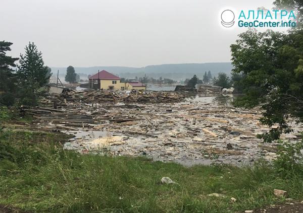 Наводнение в Иркутской области. Вторая волна, июль 2019