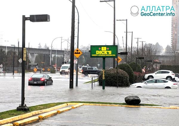 Наводнение в Канаде, декабрь 2018