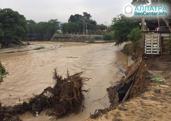 Záplavy v Kolumbii, marec 2020
