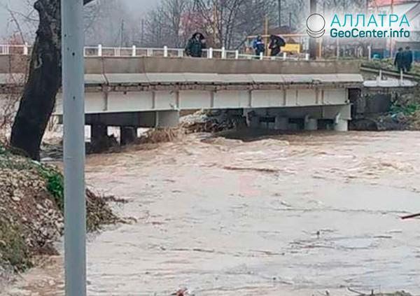 Záplavy v Krasnodarskom kraji, január 2019