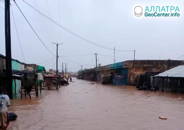 Наводнение в Мавритании, сентябрь 2019