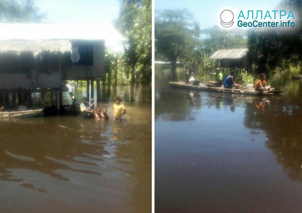 Záplavy v Papue-Novej Guinei, apríl 2020