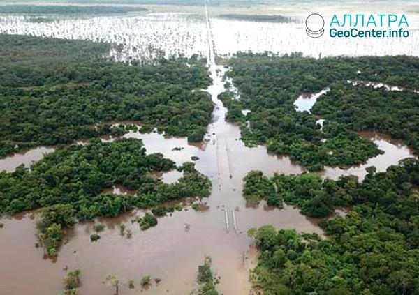 Záplavy v Paraguayi, březen 2019