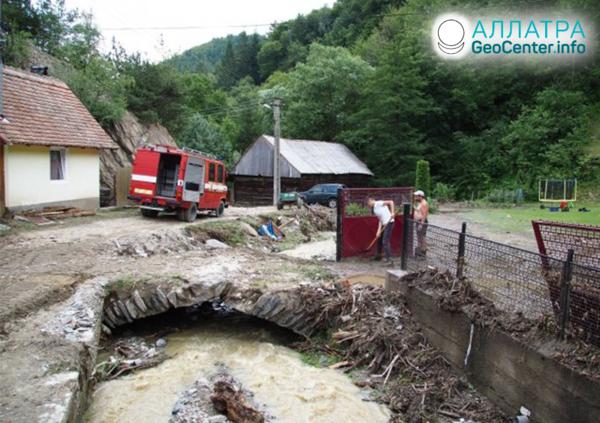 Наводнение в Румынии, июль 2019