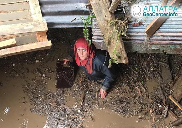Záplavy v Turecku, červen 2019