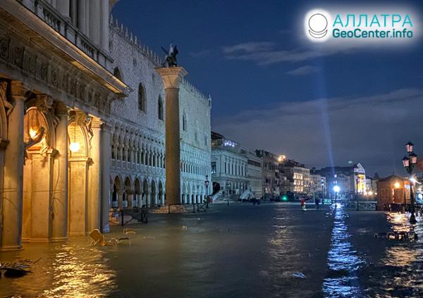 Наводнение в Венеции, ноябрь 2019