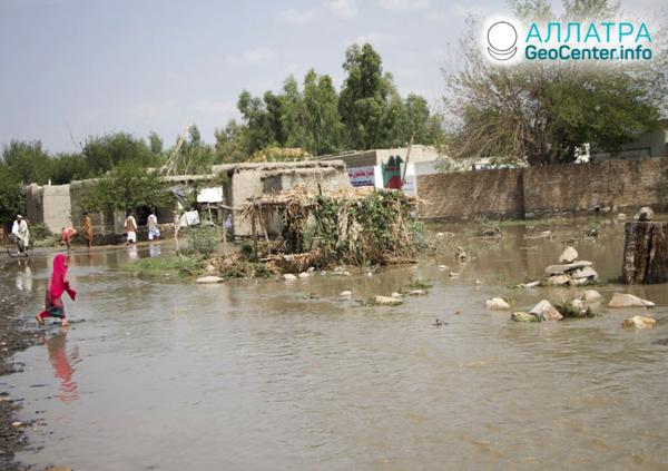 Наводнения и оползни на планете, конец июля 2020