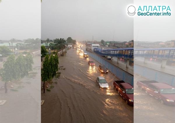 Наводнения и оползни в Европе и Африке, июнь 2020