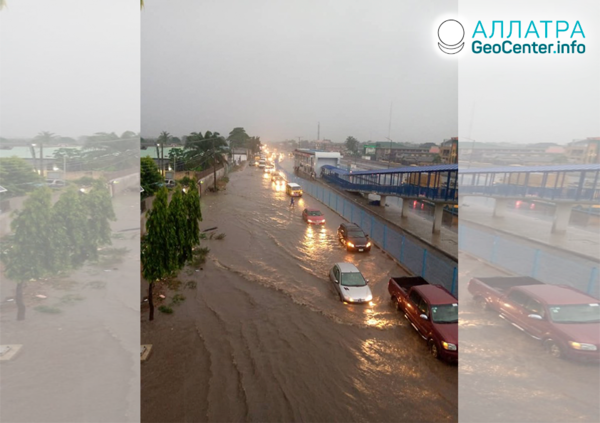 Záplavy a zosuvy v Európe a Afrike, jún 2020